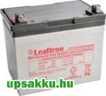 Leaftron LTC 33Ah 12V ciklikus akkumulátor