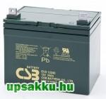 CSB EVX12340 34Ah 12V ciklikus akkumulátor