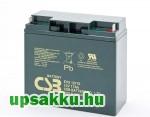 2 x CSB EVX12170 17Ah 12V ciklikus akkumulátor