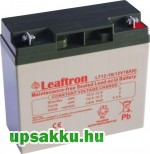 2 x Leaftron LT 18Ah 12V UPS akkumulátor