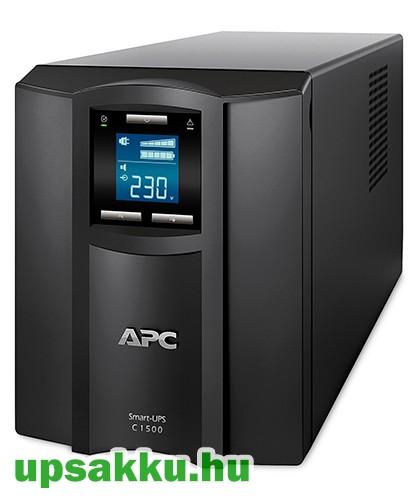 APC Smart-UPS SMC1500IC LCD szünetmentes tápegység Smartconnect