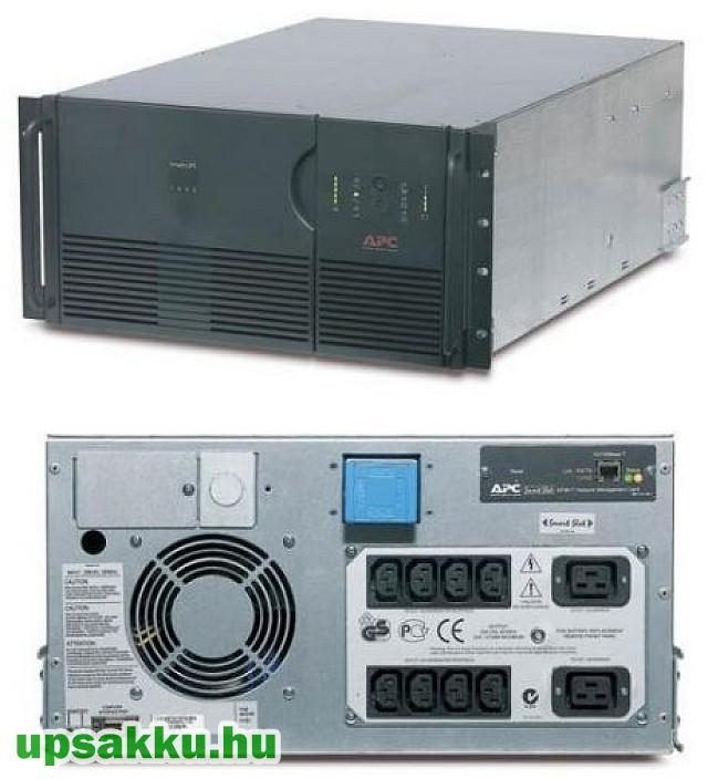 APC Smart-UPS SU5000RMXLI5U rackes szünetmentes tápegység + 3db SU48R3XLBP akkupakk (extra futásidõ!)