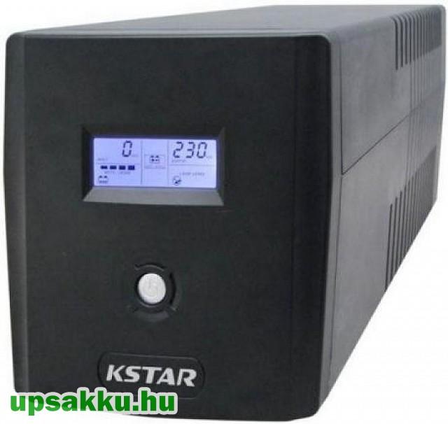 Kstar Microsine 1000 tower LCD UPS szünetmentes tápegység