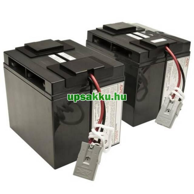 APC RBC55 akkumulátor csomag, akkupakk csatlakozókkal, készre szerelve -