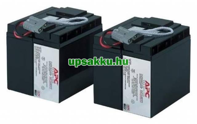 APC RBC11 akkumulátor csomag, akkupakk csatlakozókkal, készre szerelve -