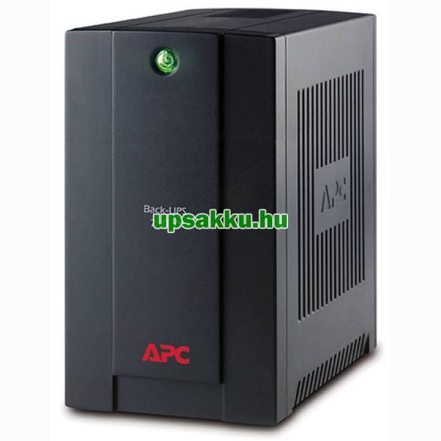 APC Back-UPS BX700U-GR (normál dugós) szünetmentes tápegység - Elölnézet