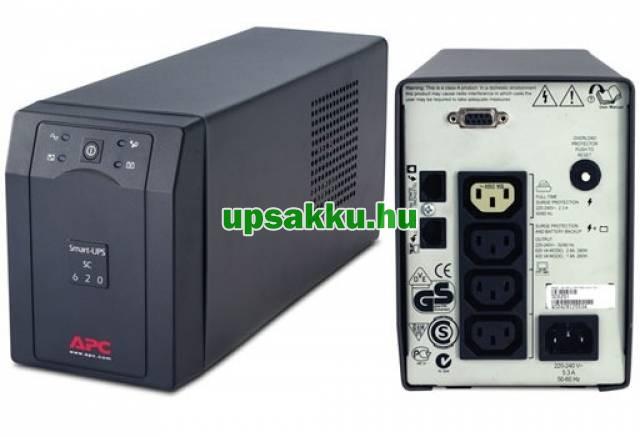 APC Smart-UPS SC620I szünetmentes tápegység -