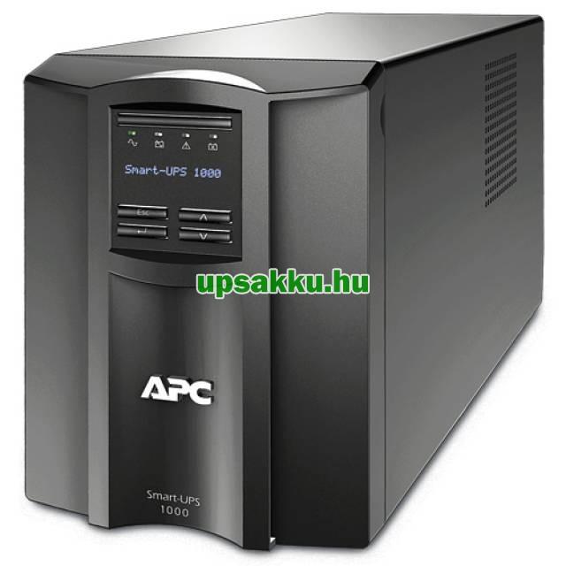 APC Smart-UPS SMT1000I LCD szünetmentes tápegység - Elölnézet
