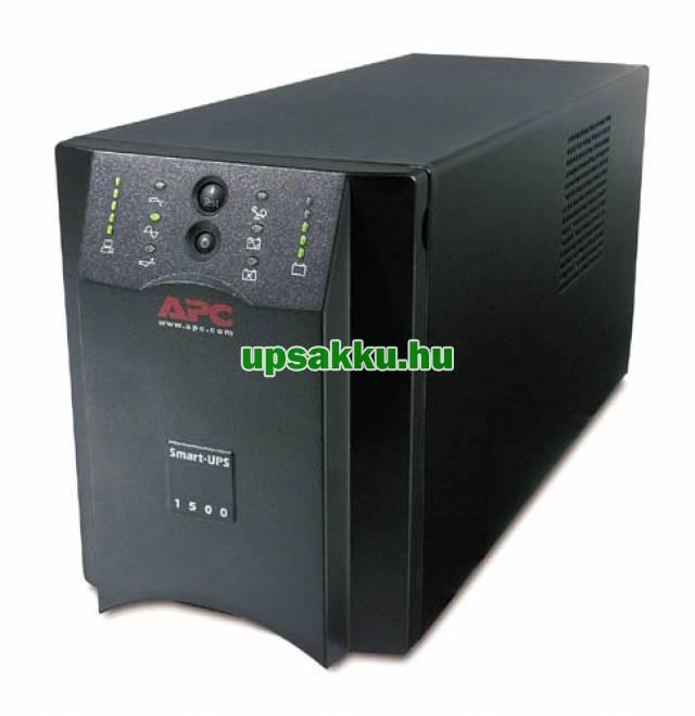 APC Smart-UPS SUA1500I szünetmentes tápegység - Elöl-oldalnézet