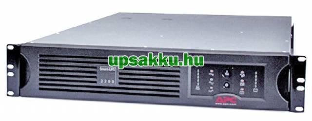 APC Smart-UPS SUA2200RMI2U rackes szünetmentes tápegység - Elölnézet (illusztráció)