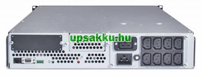 APC Smart-UPS SUA2200RMI2U rackes szünetmentes tápegység - Hátulnézet
