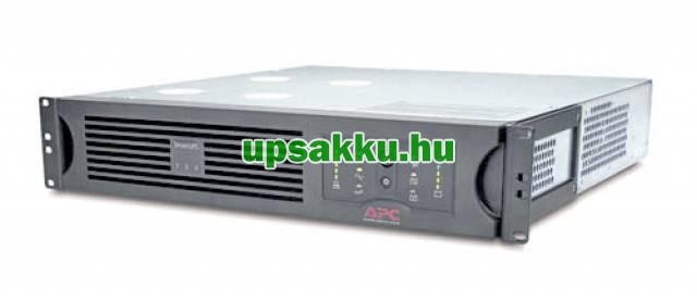 APC Smart-UPS SUA750RMI2U rackes szünetmentes tápegység - Elölnézet