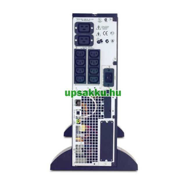 APC Smart-UPS SURT3000XLI szünetmentes tápegység - Hátulnézet