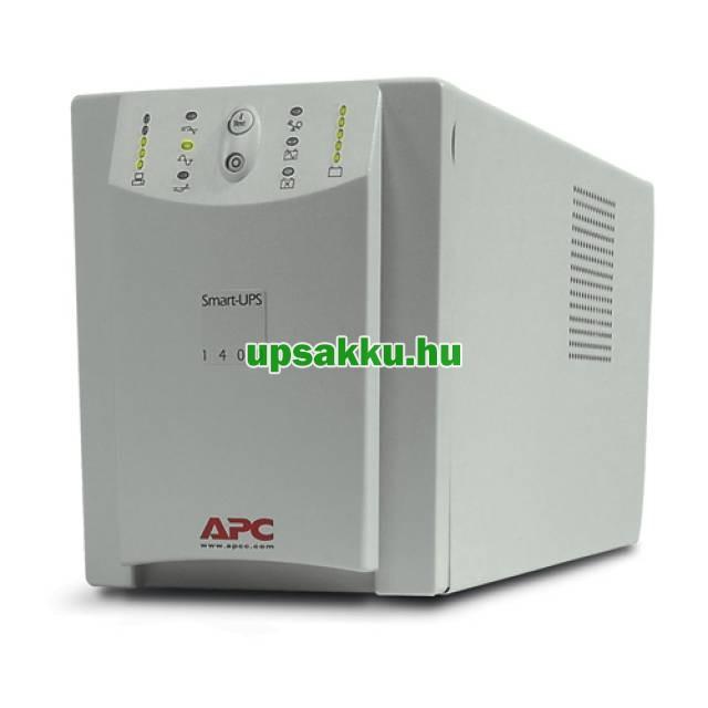 APC Smart-UPS SU1400I szünetmentes tápegység - Szemből