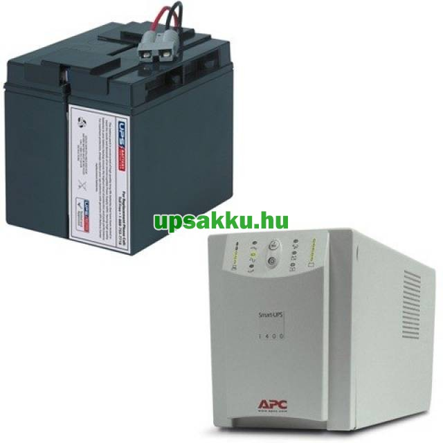 APC Smart-UPS SU1400I szünetmentes tápegység - Akkucsomag
