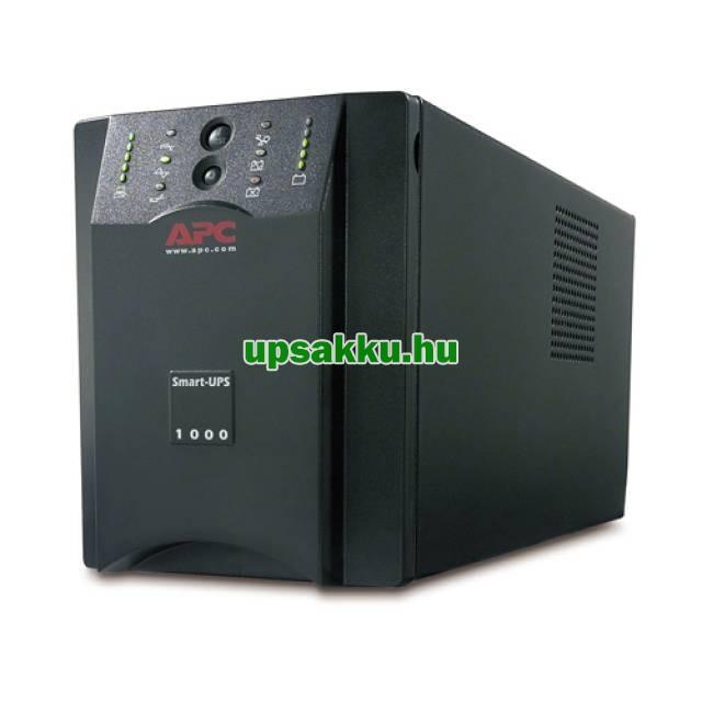 APC Smart-UPS SUA1000XLI bővíthető szünetmentes tápegység - Elölnézet
