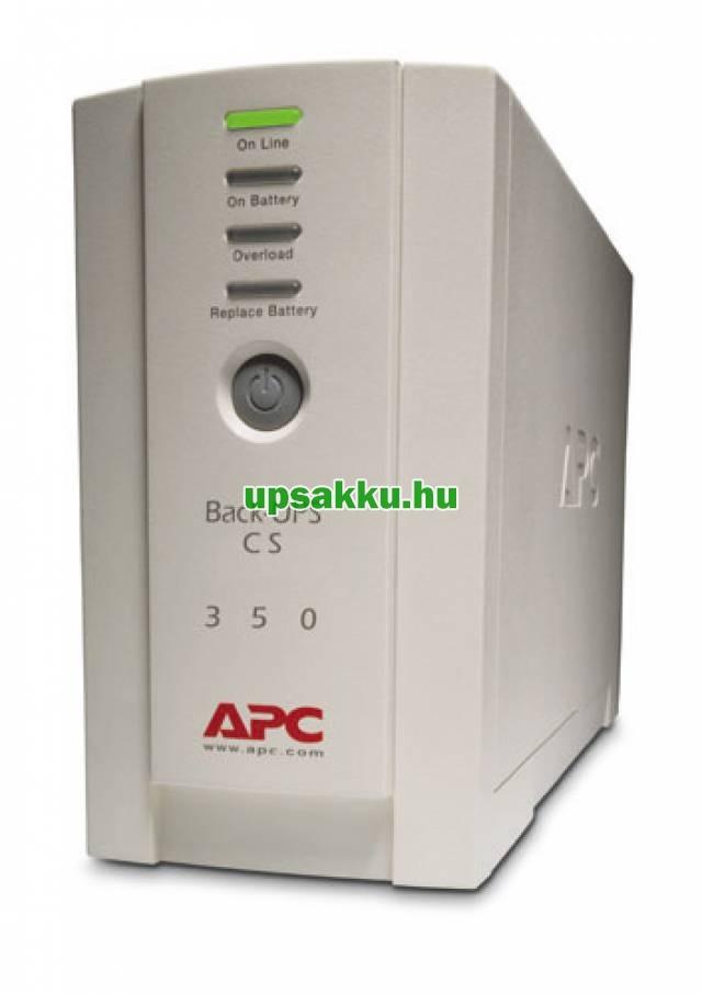 APC Back-UPS BK350EI / CS szünetmentes tápegység - Előlap