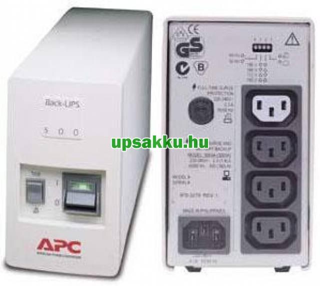 APC Back-UPS BK500I/BK500MI szünetmentes tápegység -
