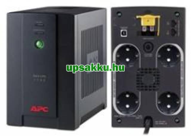 APC Back-UPS BX1400U-GR (normál dugós) szünetmentes tápegység -