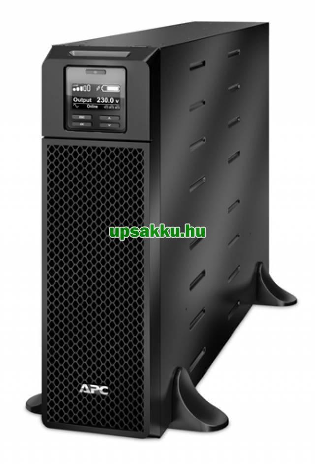 APC Smart-UPS SRT5KXLI (régen: SURTD5000XLI) szünetmentes tápegység - Elölnézet