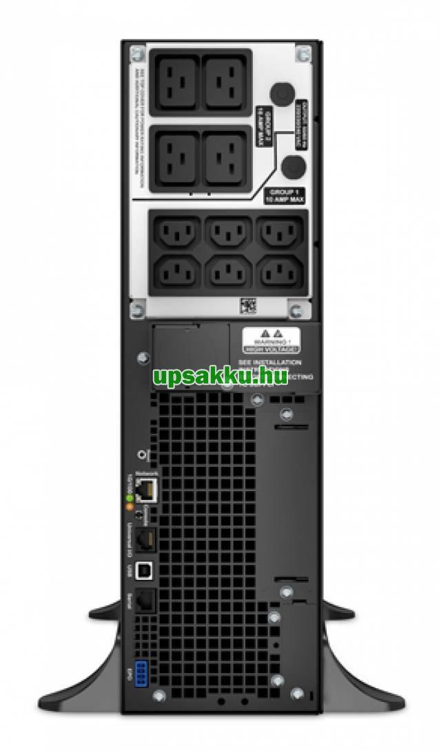 APC Smart-UPS SRT5KXLI (régen: SURTD5000XLI) szünetmentes tápegység - Hátulról