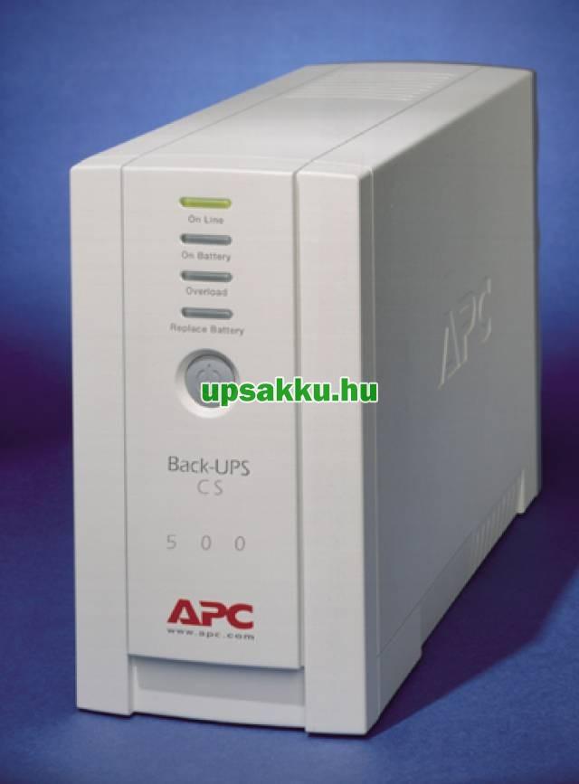 APC Back-UPS BK500EI / CS szünetmentes tápegység - Előlap II.