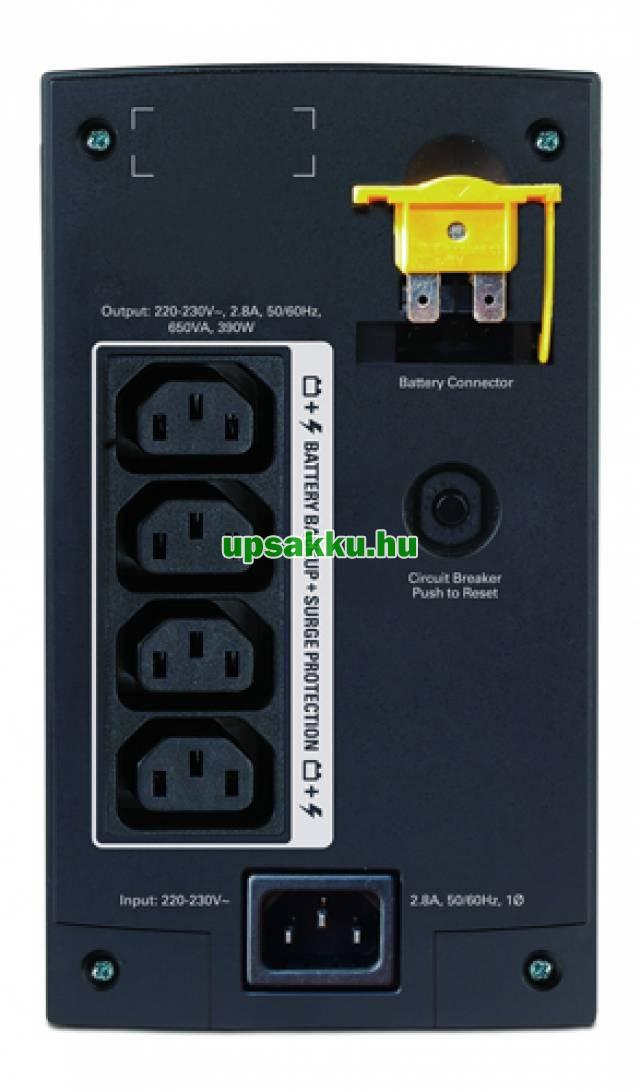 APC Back-UPS BX650CI szünetmentes tápegység -