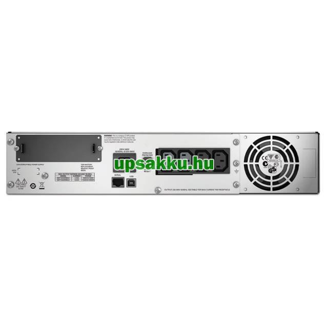 APC Smart-UPS SMT1500RMI2UC LCD rackes szünetmentes tápegység -