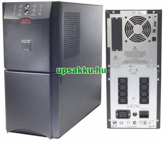 APC Smart-UPS SUA3000I szünetmentes tápegység (alsó előlap hiányzik) -
