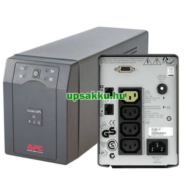 APC Smart-UPS SC420I szünetmentes tápegység -