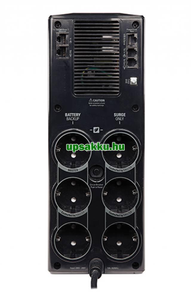 APC Back-UPS BR1200G-GR szünetmentes tápegység - Hátoldal