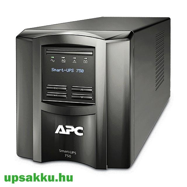 APC Smart-UPS SMT750I LCD szünetmentes tápegység, felújított -