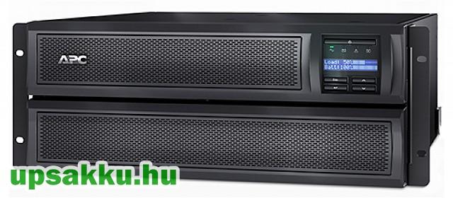 APC Smart-UPS SMX3000RMHV2U UPS + 1db SMX120RMBP2U akkucsomag -