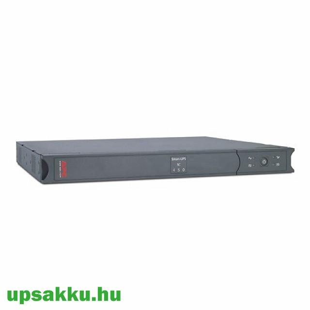 APC Smart-UPS SC450RMI1U rackes szünetmentes tápegység -