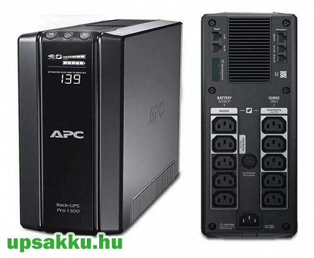 APC Back-UPS BR1500GI szünetmentes tápegység -