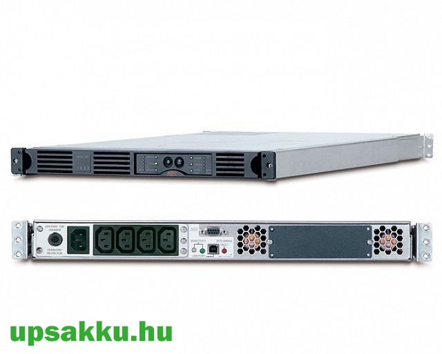 APC Smart-UPS SUA1000RMI1U rackes szünetmentes tápegység -