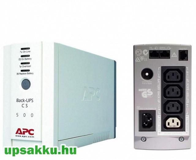 APC Back-UPS BK500EI / CS szünetmentes tápegység felújított -