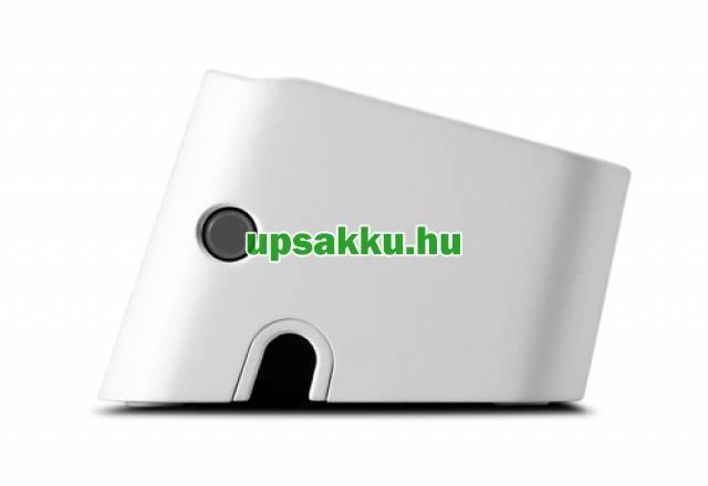 APC PM5U-GR 5-ös túlfeszültség-védő-elosztó fehér + USB töltő -