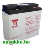 2 x Yuasa NP 17Ah 12V UPS akkumulátor