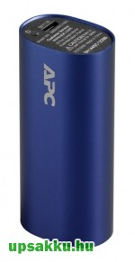 APC M3BL-EC Power Pack, Power Bank 3000mAh kék