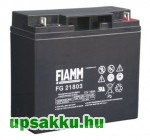 2 x FIAMM FG 21803 18Ah 12V UPS akkumulátor