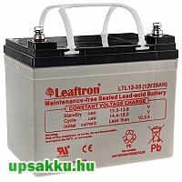 Leaftron LTL 35Ah 12V UPS akkumulátor