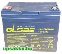 Long Globe U1-36NE 36Ah 12V ciklikus-kerekesszék akkumulátor