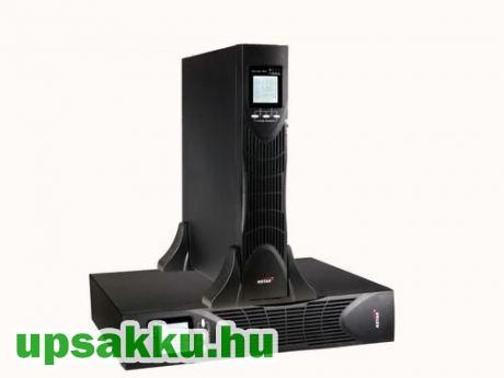 SPS MID 3000RTI 0.9 II Online rack/tower LCD UPS szünetmentes tápegység