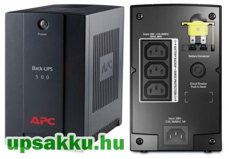 APC Back-UPS BX500CI szünetmentes tápegység