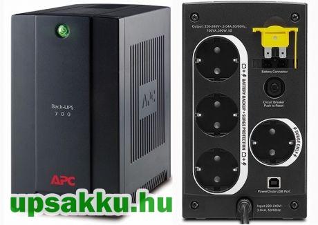 APC Back-UPS BX700U-GR (normál dugós) szünetmentes tápegység