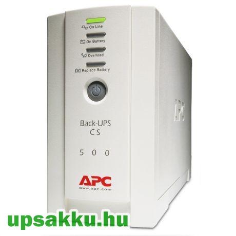 APC Back-UPS BK500EI / CS szünetmentes tápegység felújított - esztétikai hibás!