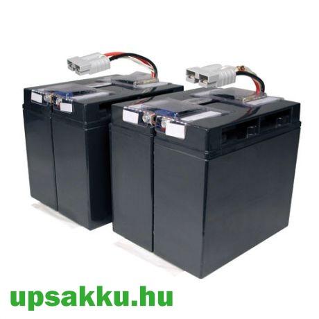 APC RBC55 akkumulátor csomag, akkupakk csatlakozókkal, készre szerelve