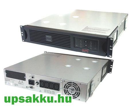 APC Smart-UPS SUA750RMI2U rackes szünetmentes tápegység - előlap nélkül