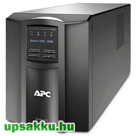 APC Smart-UPS SMT1000I LCD szünetmentes tápegység felújított